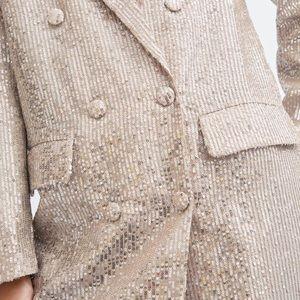 Zara (TRF) Sequined Blazer